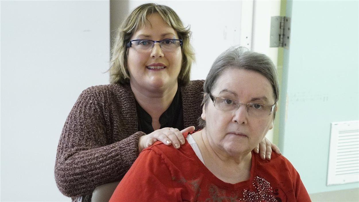 Annie Dumas et sa mère