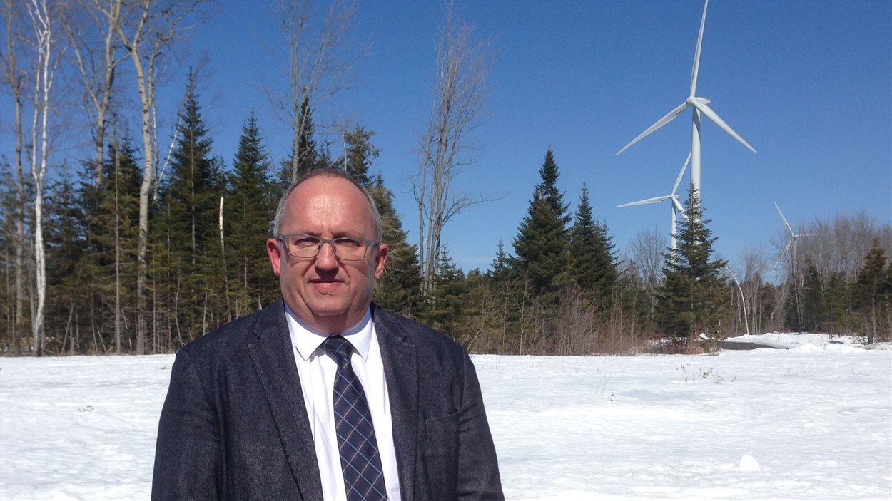 Michel Lagacé, préfet de la MRC de Rivière-du-Loup