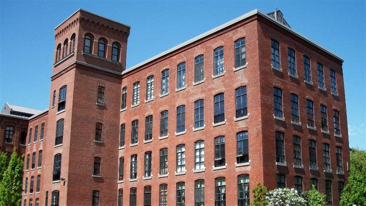 L'ancienne usine Belding-Corticelli, à Coaticook