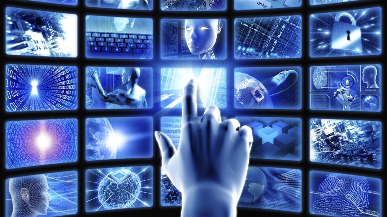 Illustration de nouvelles technologies.