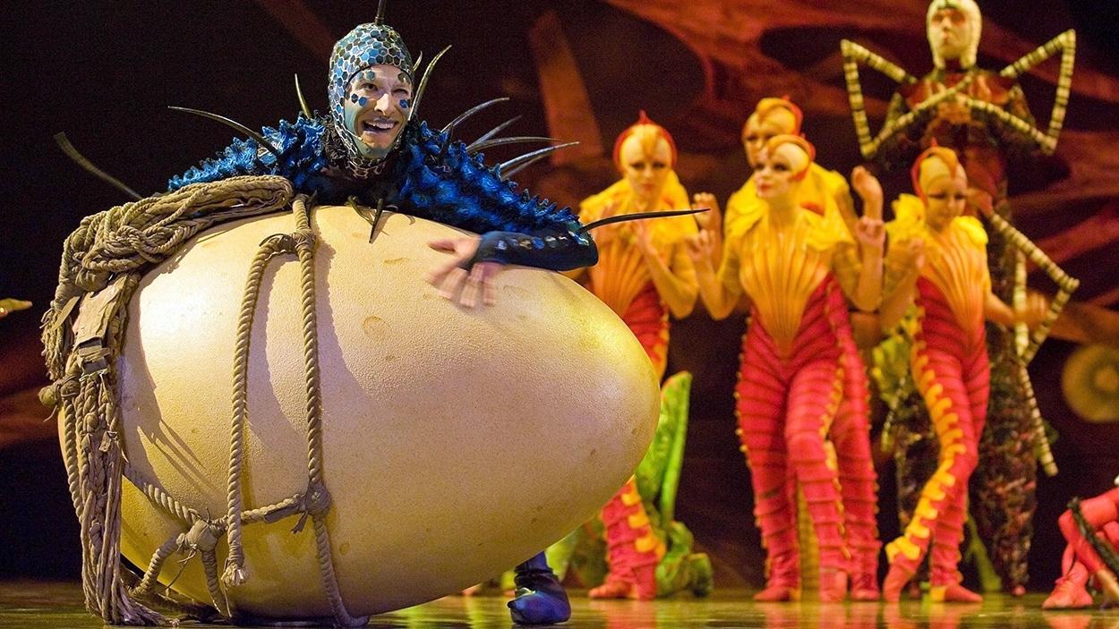 Le spectacle «Ovo» du Cirque du Soleil