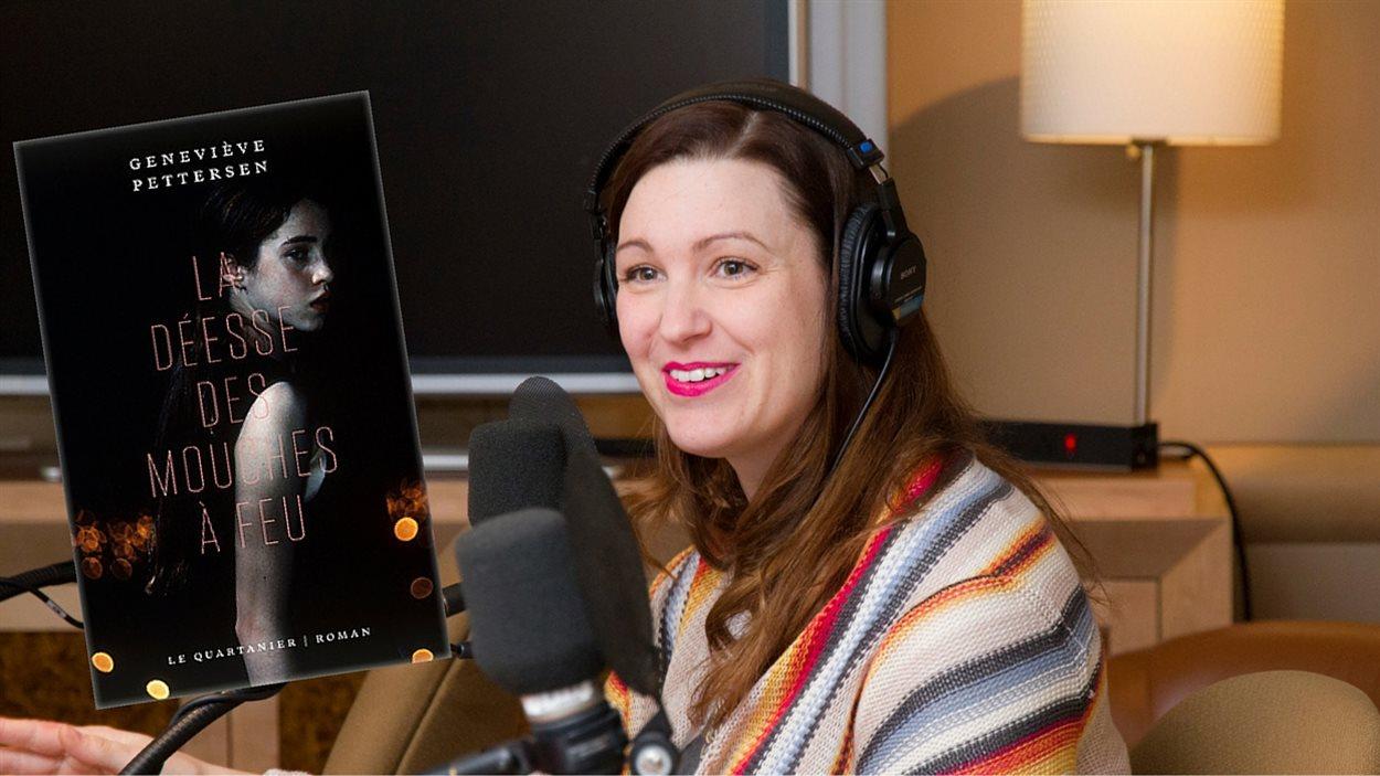 L'écrivaine Geneviève Pettersen
