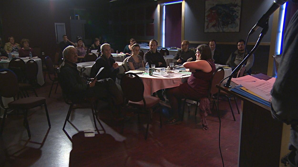 La radio communautaire Envol 91,1 FM tenait son assemblée générale annuelle à la salle Antoine-Gaborieau au Centre culturel franco-manitobain.