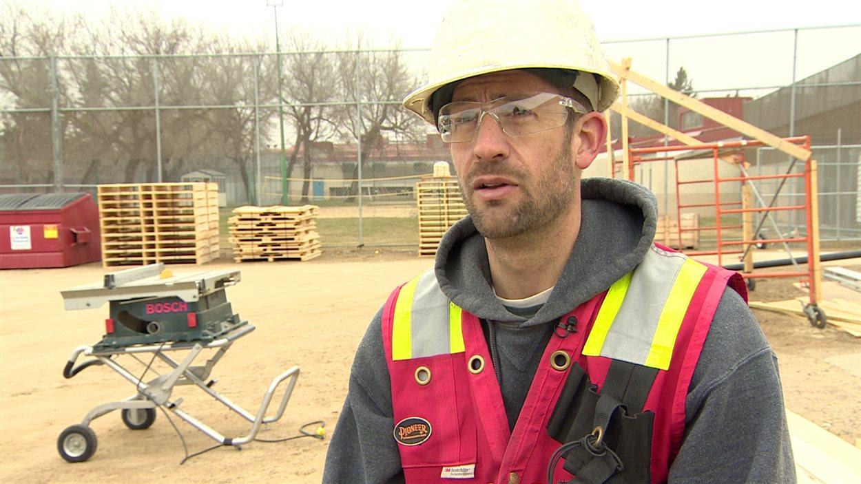 Scott Werner, surintendant pour une compagnie de construction commerciale.