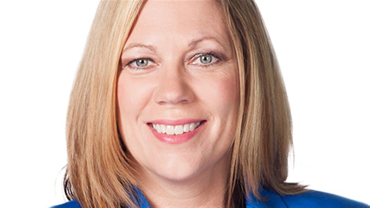 Rochelle Squires, candidate du Parti progressiste-conservateur du Manitoba dans la circonscription de Riel