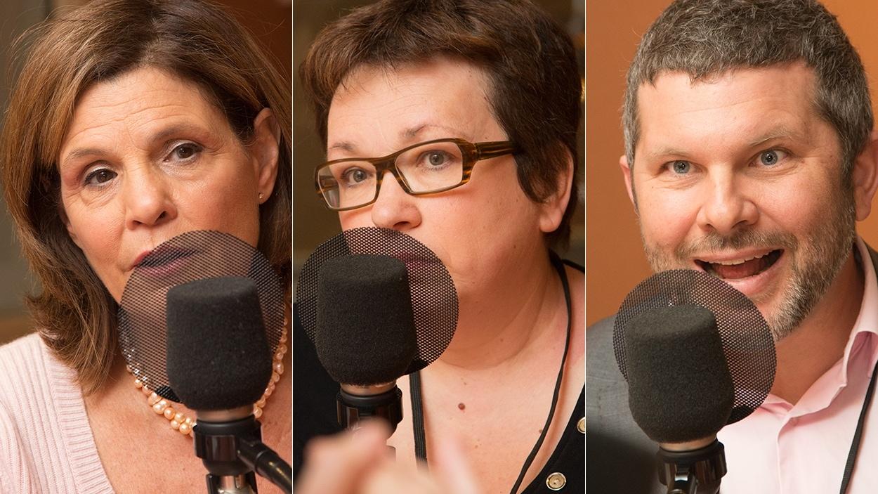 Liza Frulla, Josée Boileau et Nicolas Chevrier