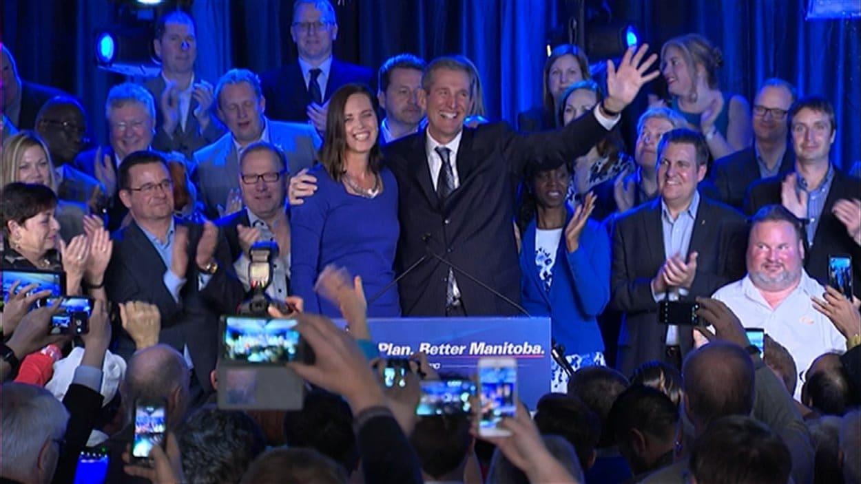 Brian Pallister, premier ministre désigné du Manitoba