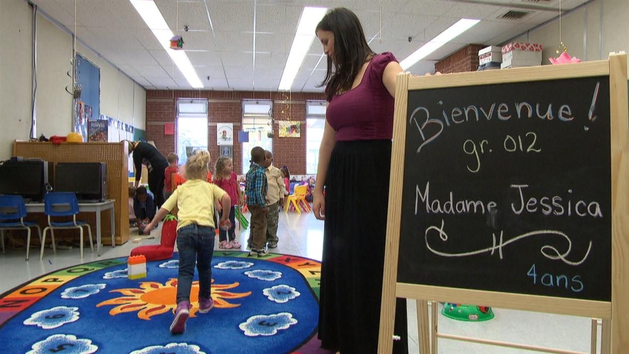 Une école de maternelle à Gatineau au Québec