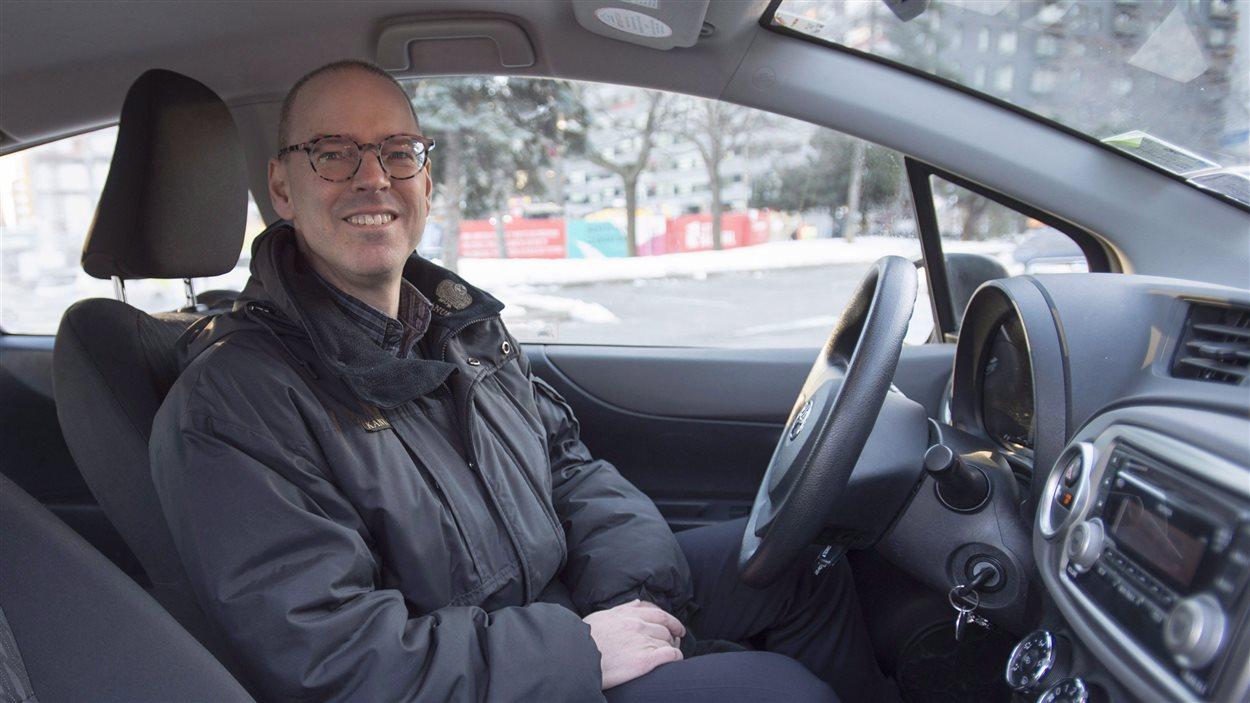Le PDG de Communauto, Benoit Robert