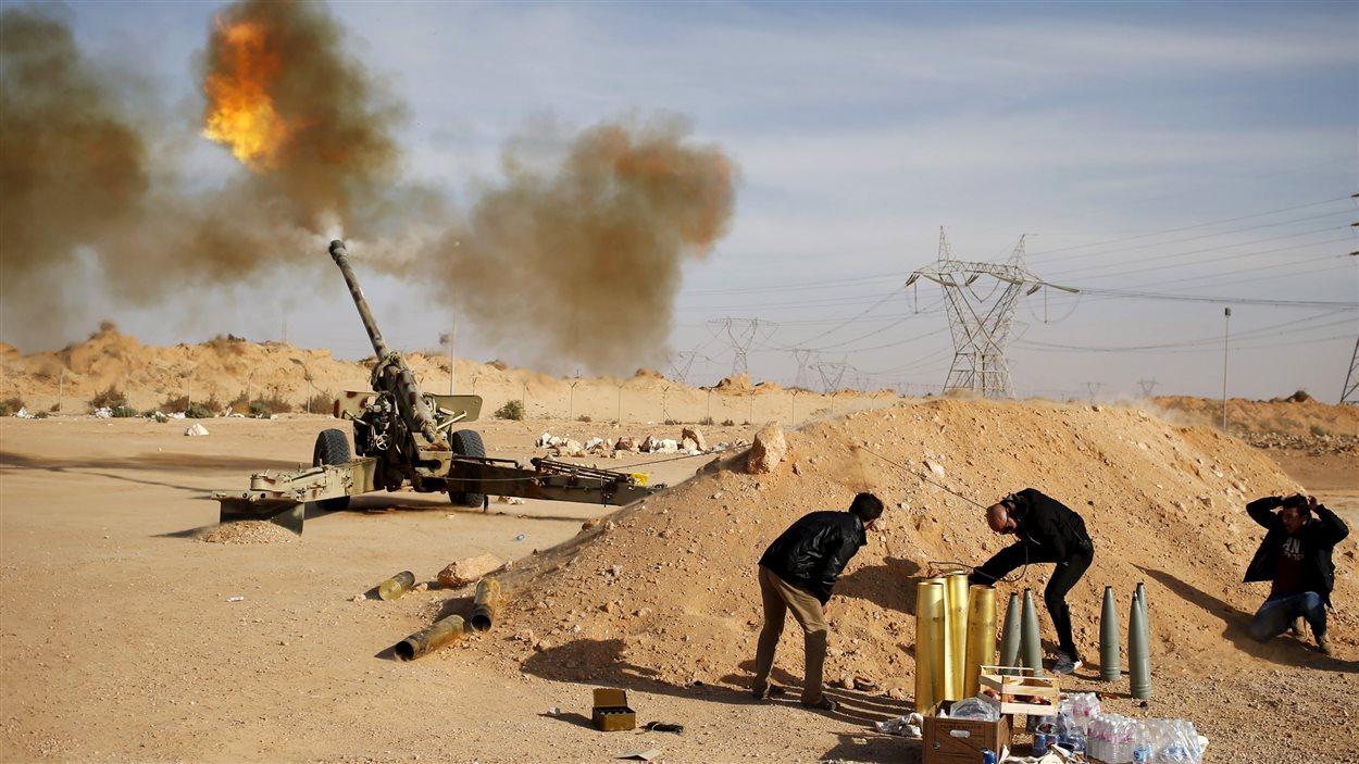 Combats à Syrtre, en Libye