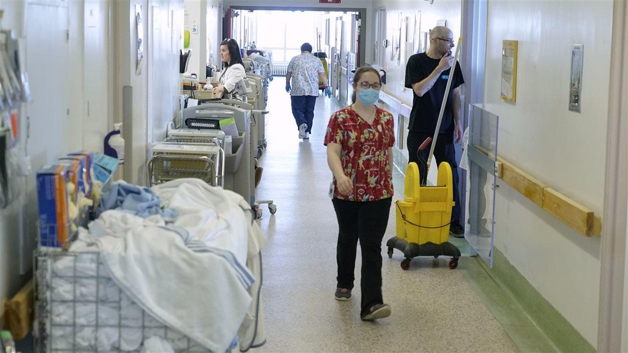 Le Centre intégré de santé et de services sociaux de la Côte-Nord-Manicouagan, à Baie-Comeau.