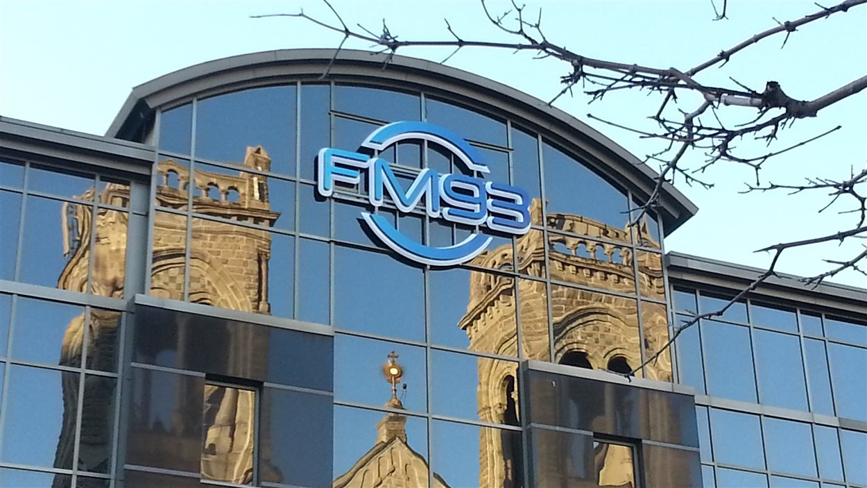 La station FM93 à Québec