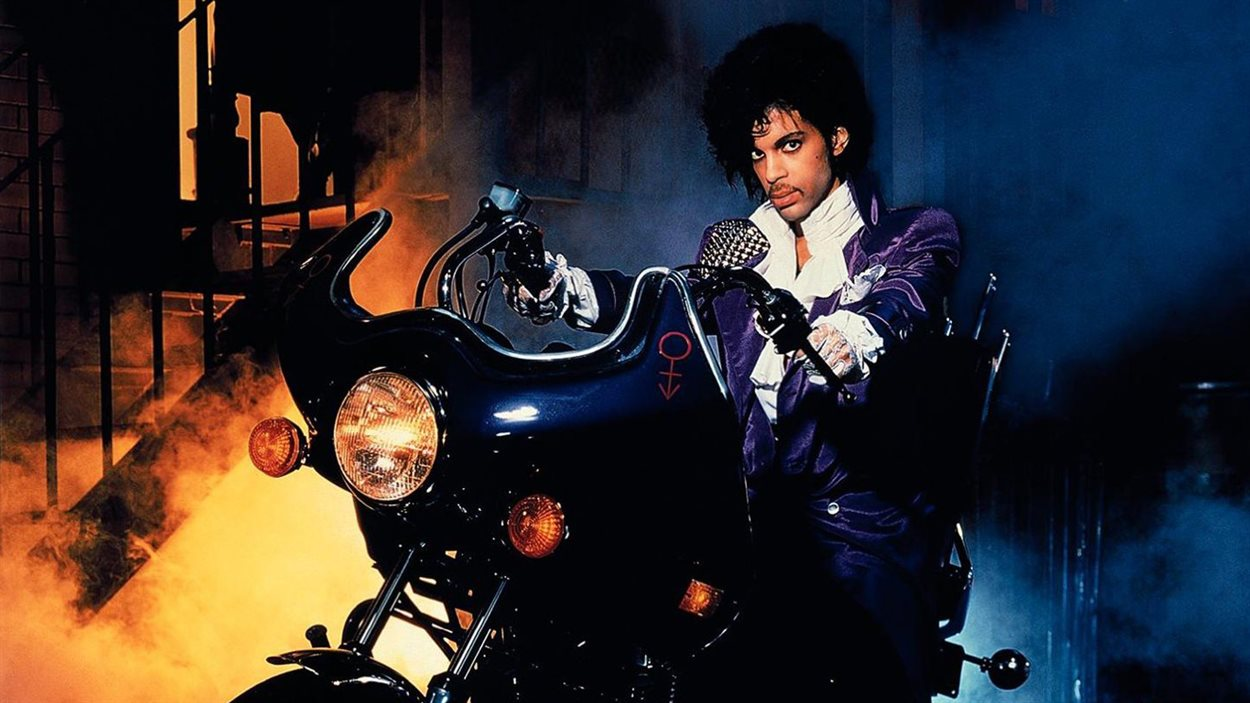 Prince à l'époque d e Purple rain