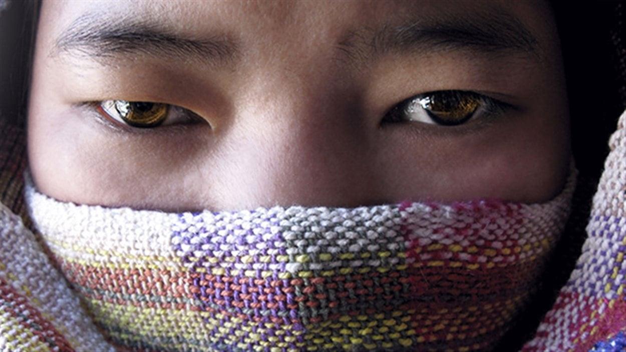 Une jeune Népalaise