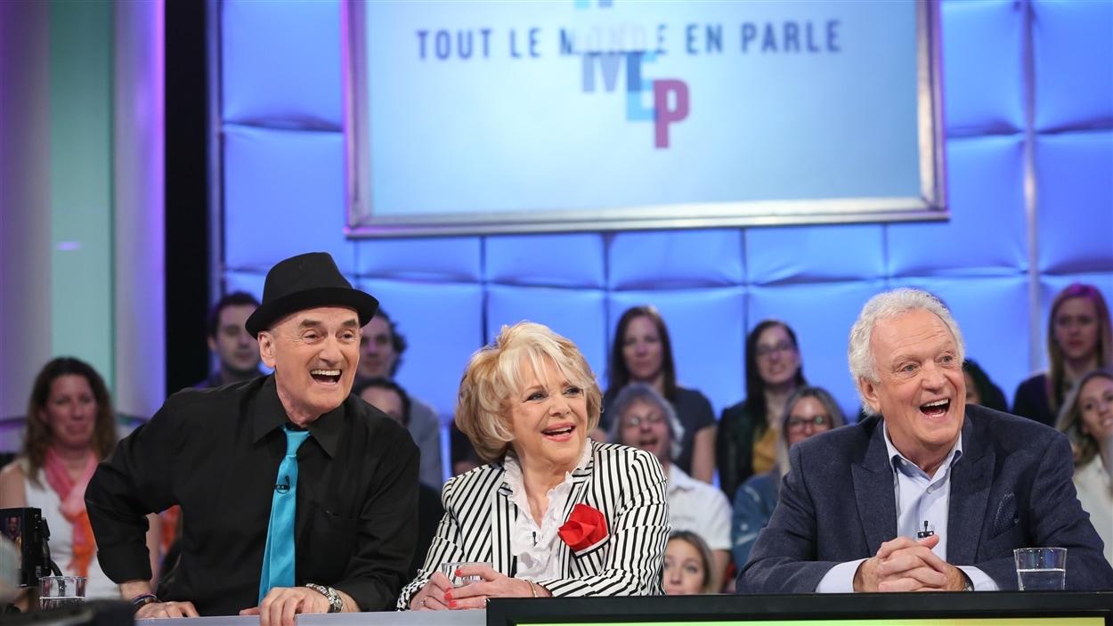 Shirley Théroux, Pierre Marcotte et Joël Denis