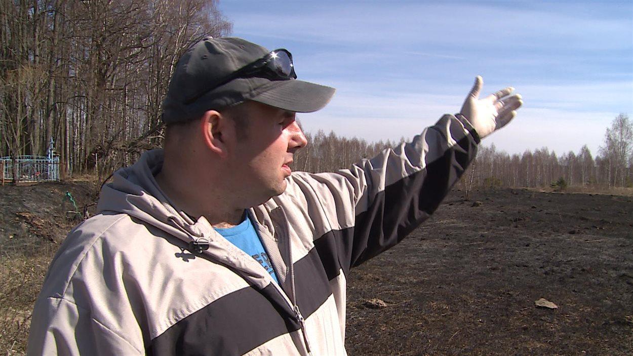 Alexei Kiselyev, expert en protection contre les radiations pour Greenpeace.