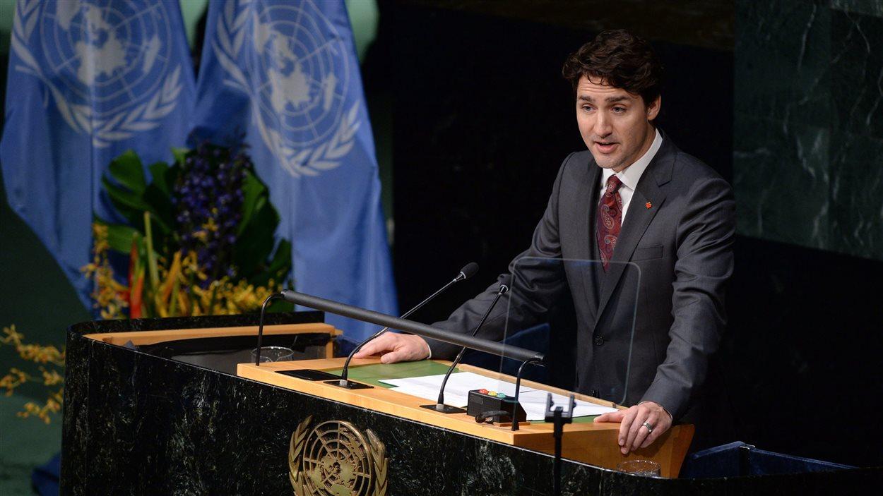 Justin Trudeau à l'ONU