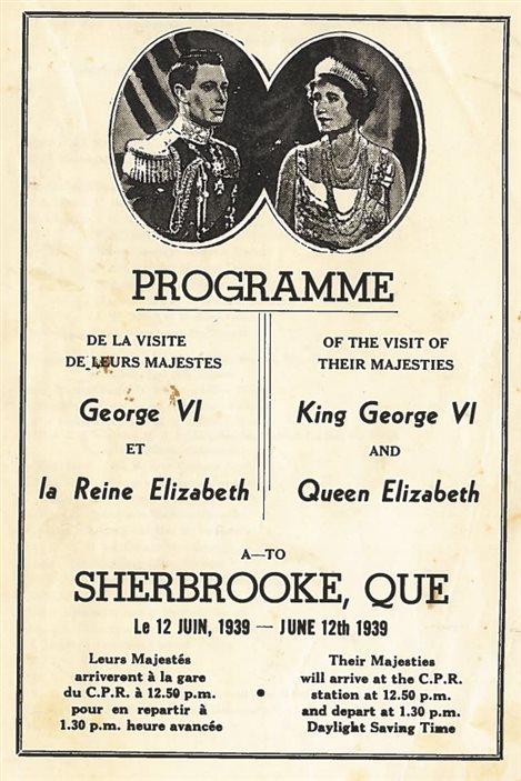 La reine Elizabeth en visite à Sherbrooke