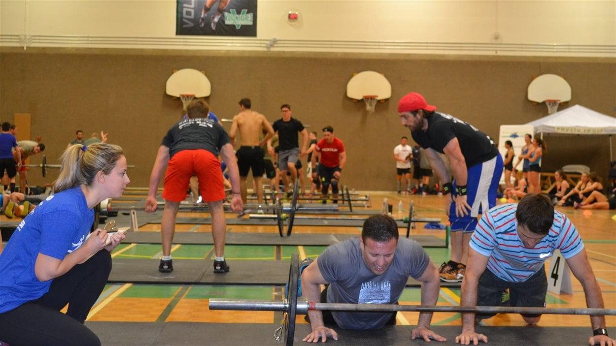 Le Salon de l'activité physique de l'Estrie bat son plein