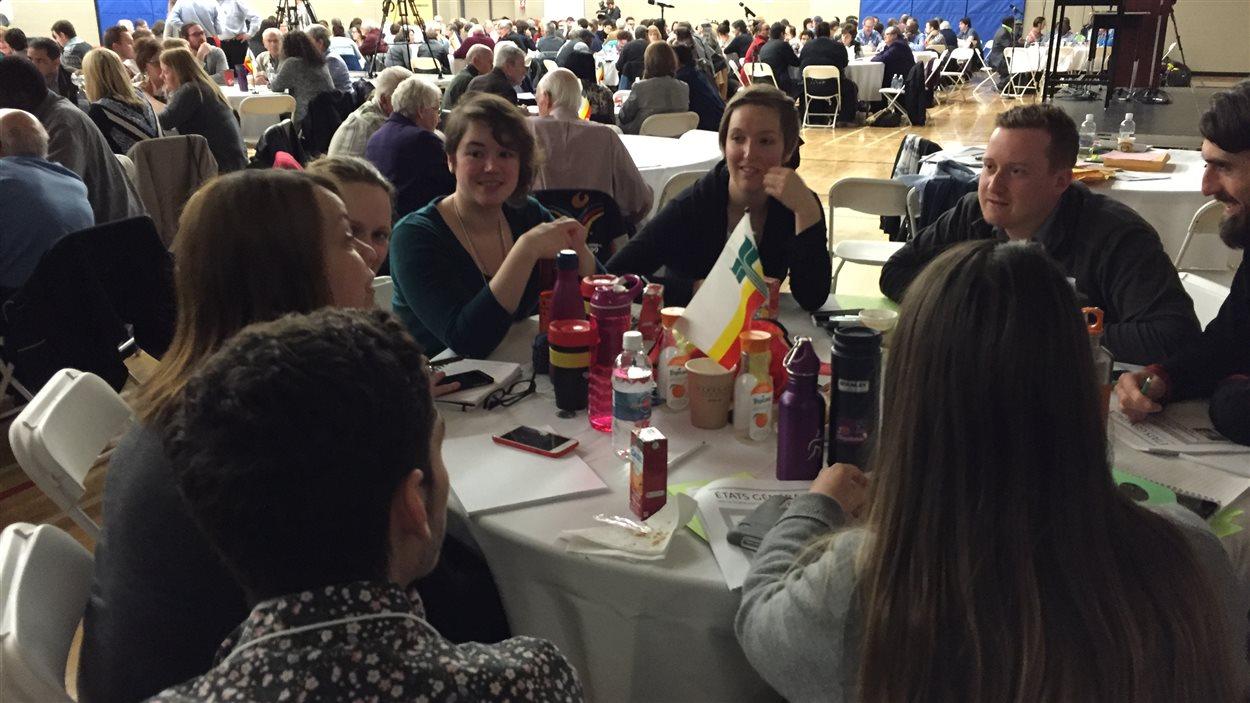 La communauté francophone du Manitoba s'est rassemblée samedi au Centre scolaire Léo-Rémillard.