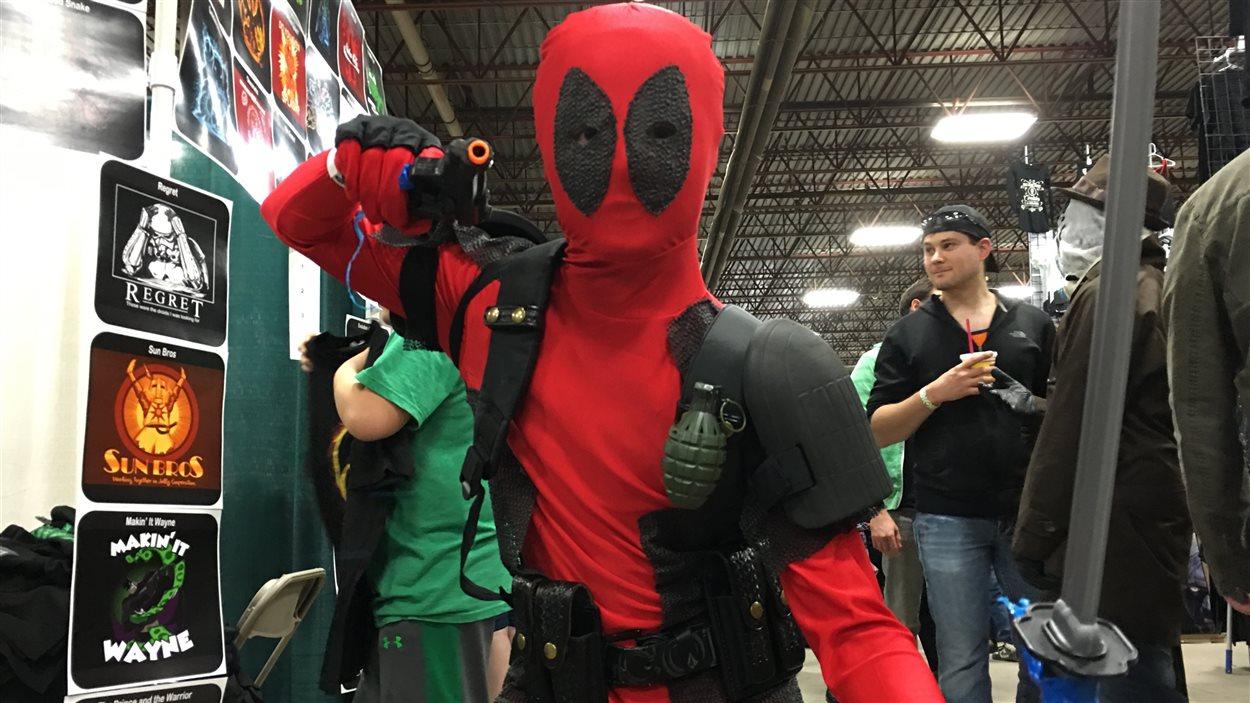 Le personnage Deadpool était présent ce qui n'est pas surprenant puisque son créateur a fait de Regina sa ville d'origine.