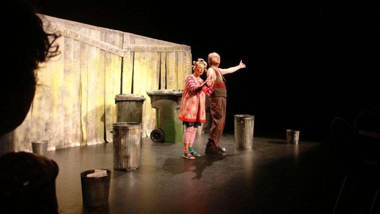 Une scène de Quête de sens, l'une des productions du Théâtre Parminou de Victoriaville