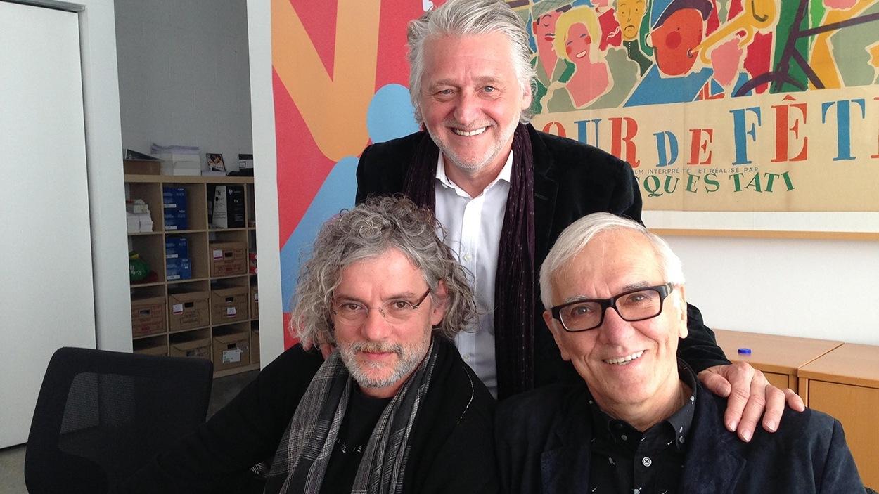 François Girard, Gilbert Rozon et Roger Frappier