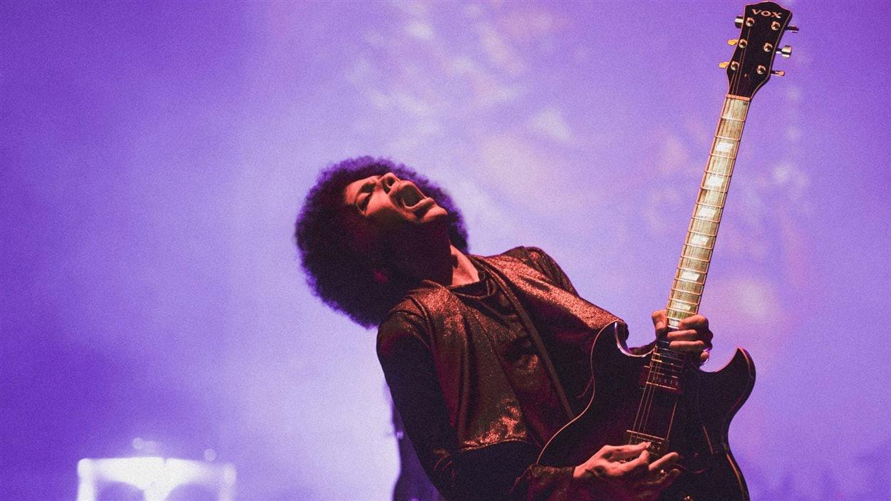 Prince en concert à Wahington en juin 2015