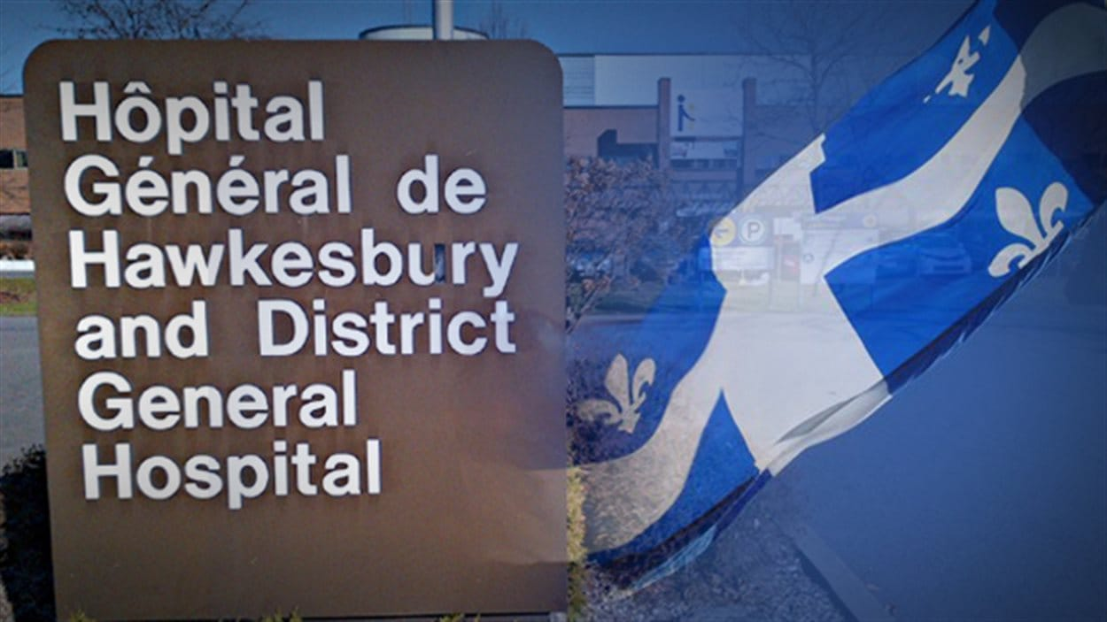 L'Hôpital général de Hawkesbury.