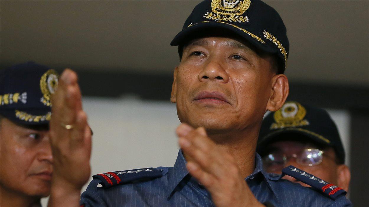Ricardo Marquez, directeur général de la police nationale des Philippines