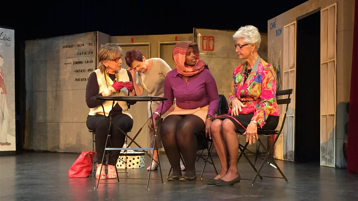 La pièce Quel matin! écrite et mise en scène par France Levasseur-Ouimet.