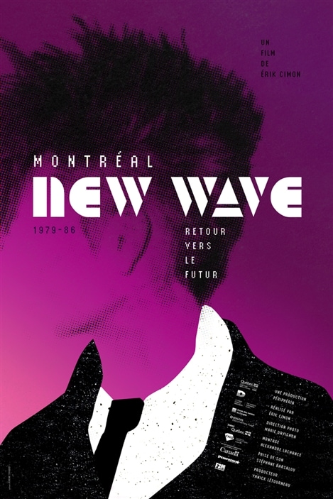 L'affiche du film «Montréal New Wave»