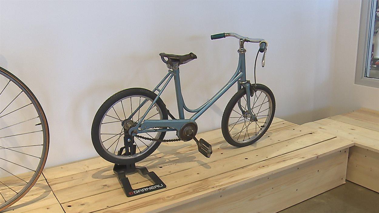 Le premier vélo de Louis Garneau en 1962
