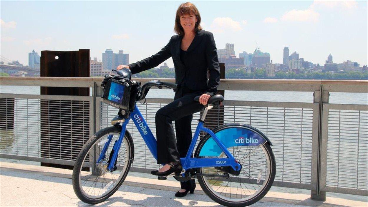 Janette Sadik-Khan, l'ancienne commissaire aux transports de New York sous Michael Bloomberg