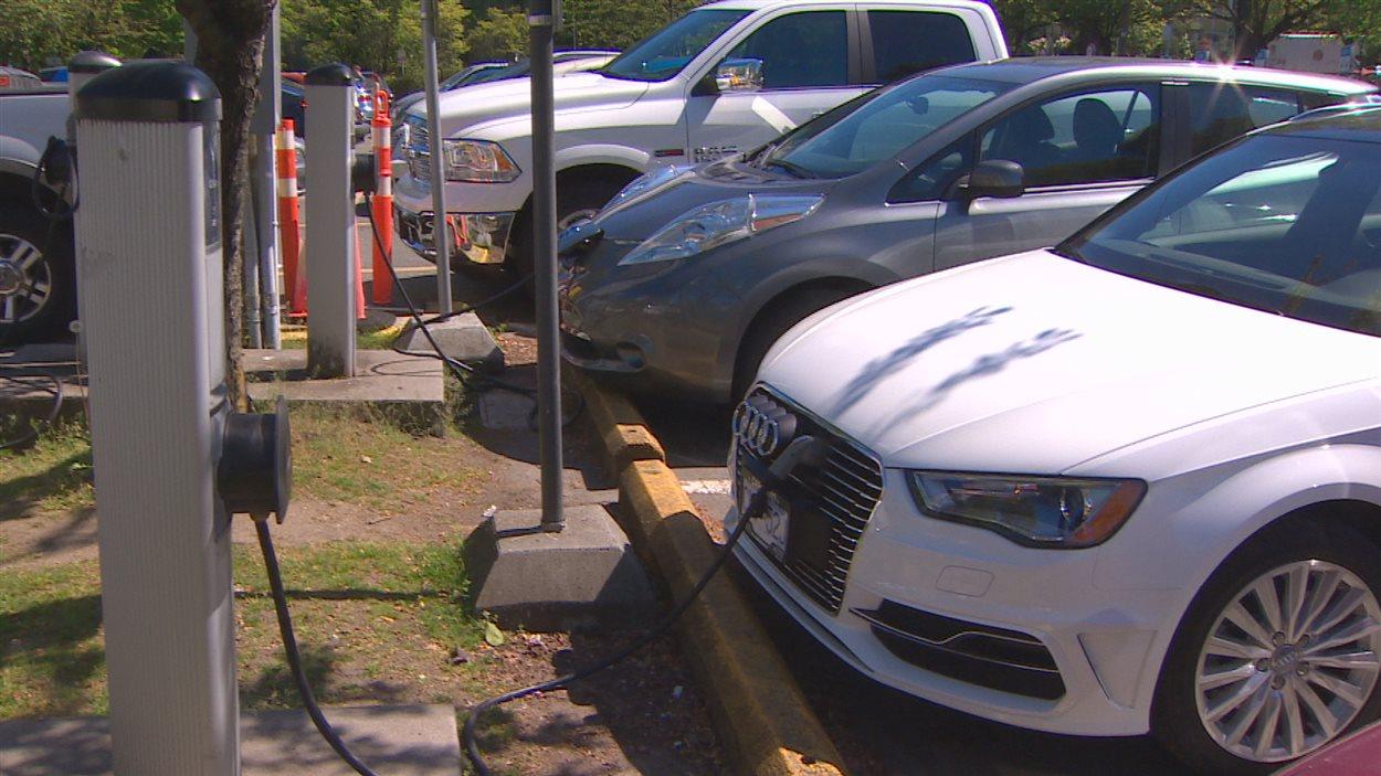 Des bornes de recharge pour voitures électriques à Vancouver