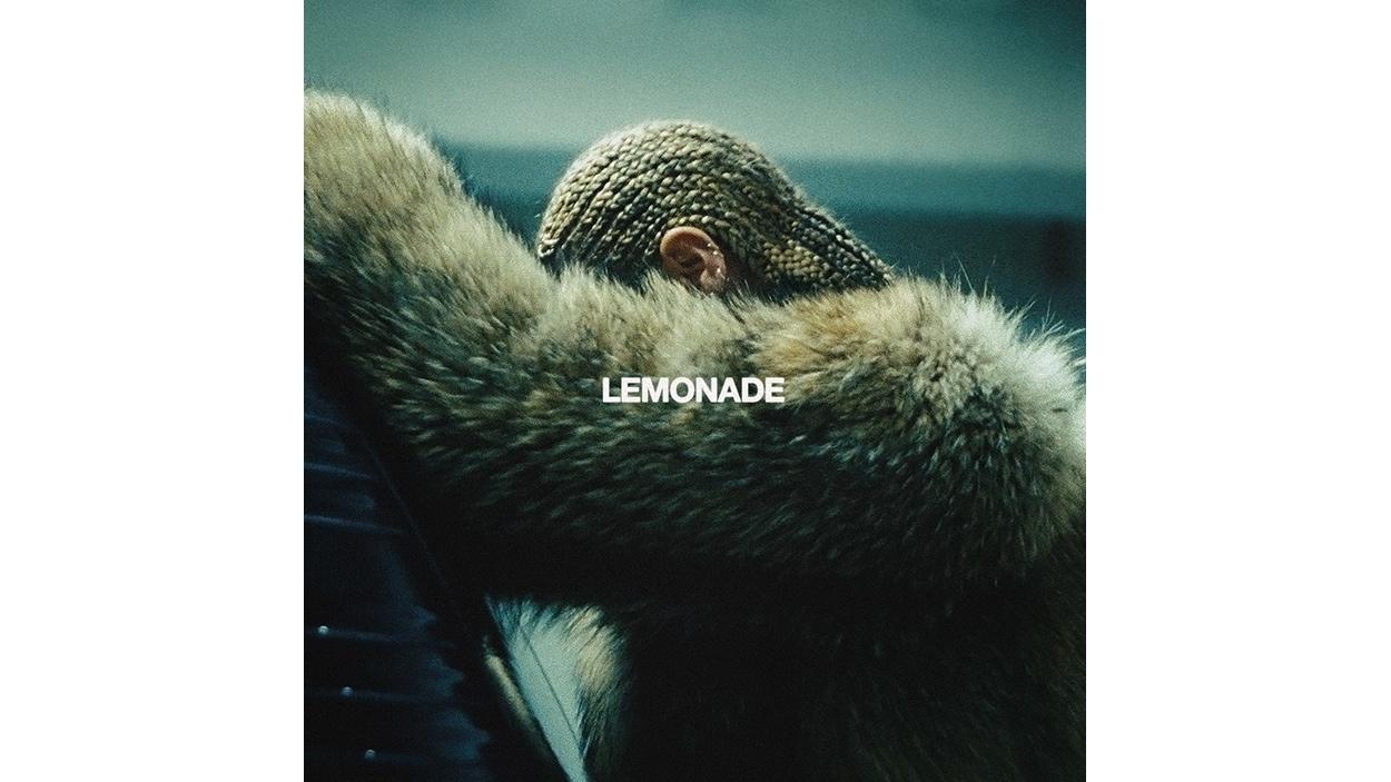 Pochette de l'album <i>Lemonade</i> de Beyoncé, paru sous étiquette Columbia