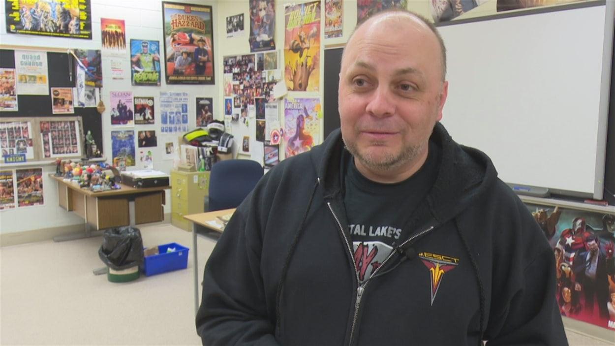 Michael Patry, organisateur de spectacles de lutte professionnelle.