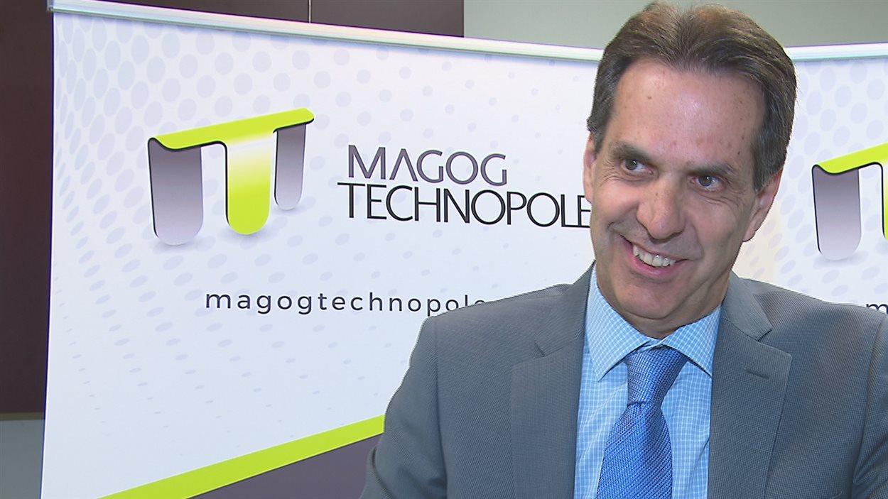 André Métras, directeur général de Magog Technopole