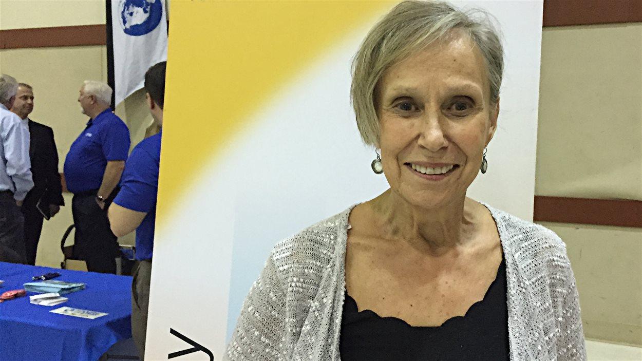 Liz Wolff, responsable des programmes pour l'organisme New Directions.