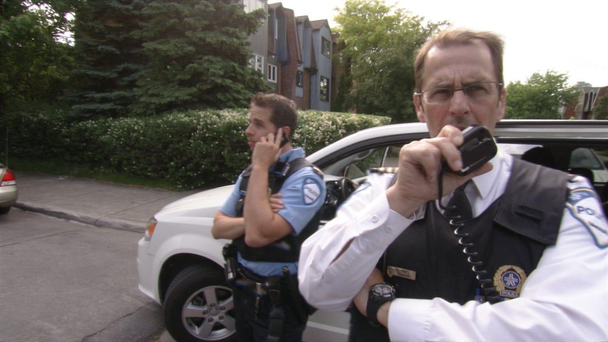 Des policiers du SPVM