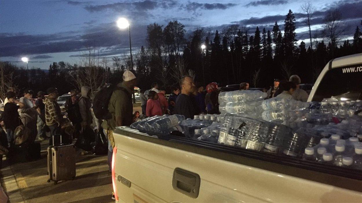 La municipalité d'Anzac, près de Fort McMurray, est évacuée.