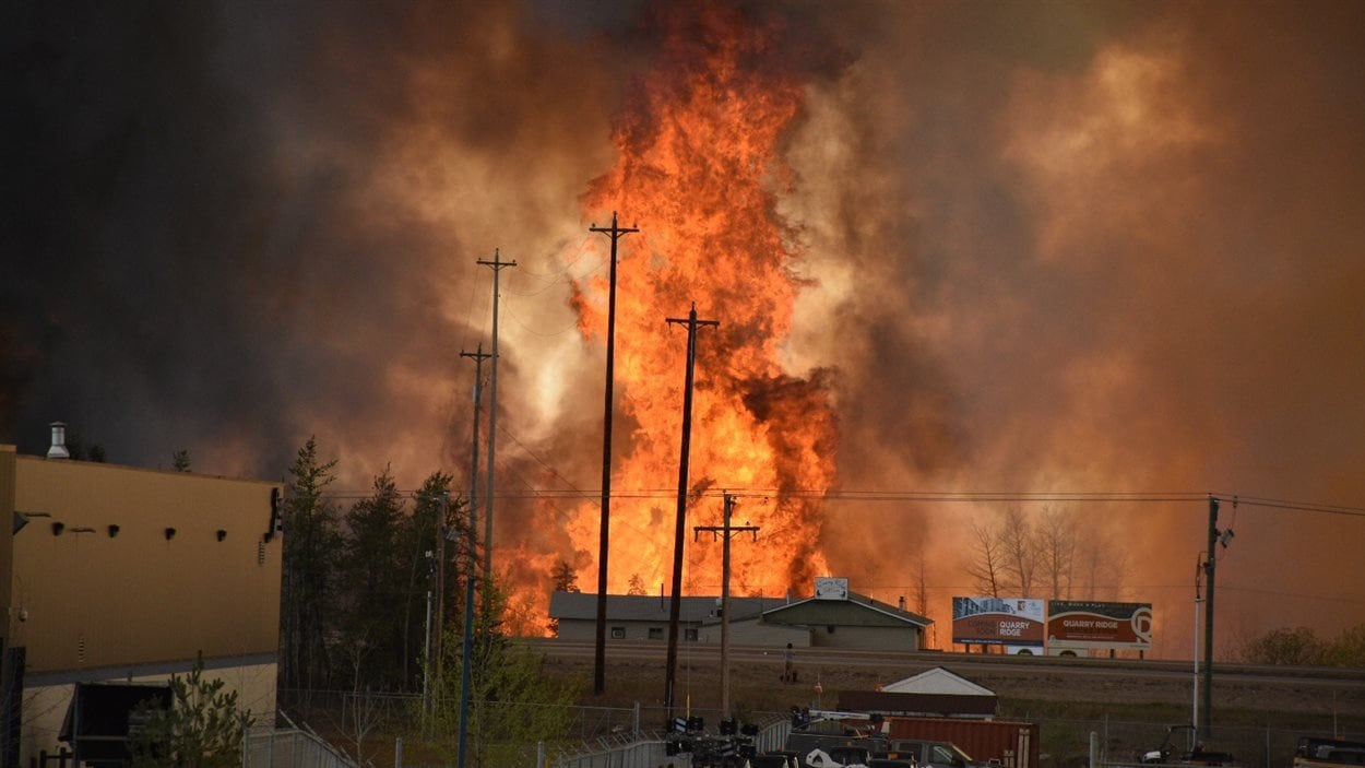 Feu à Fort McMurray