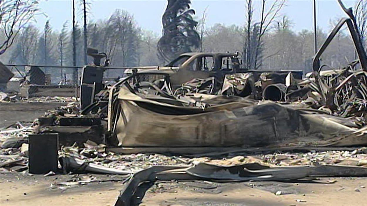Incendie à Slave Lake, en Alberta, en 2011 (Archives)