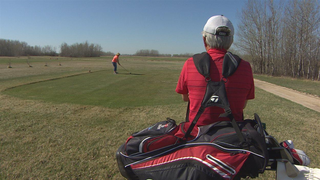 Le club de golf Manipogo à Saint-Laurent.