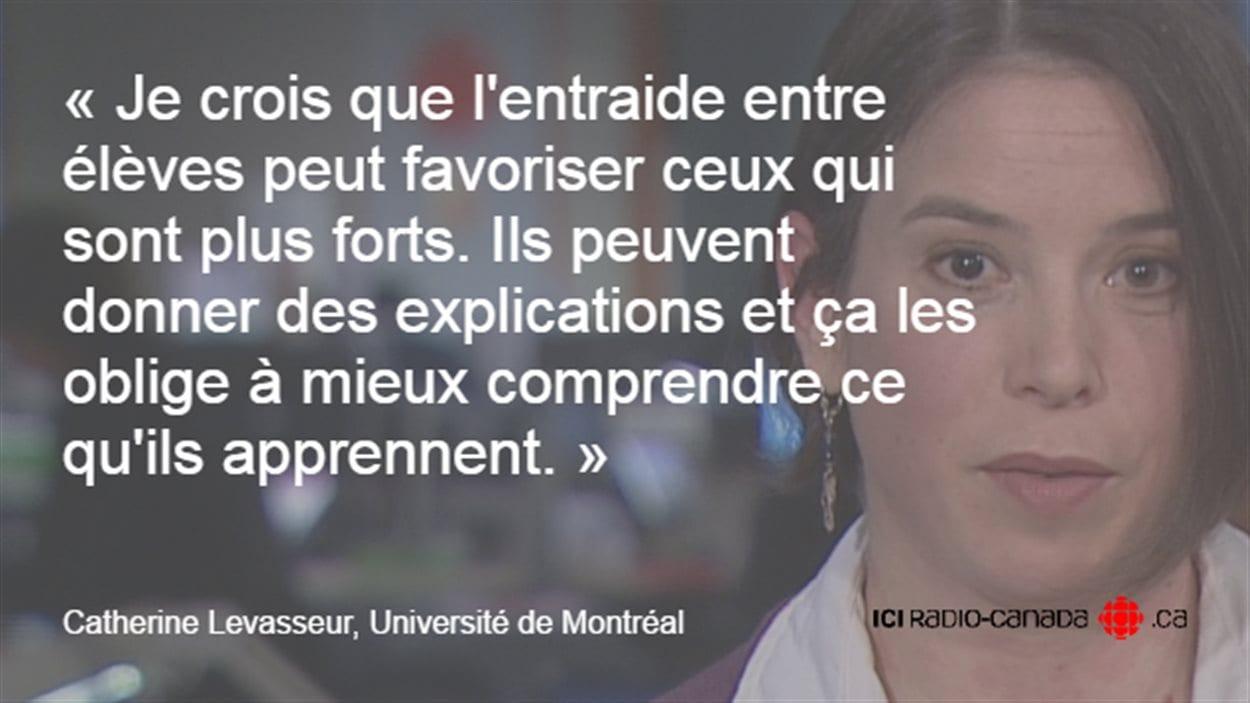 Catherine Levasseur, Université de Montréal