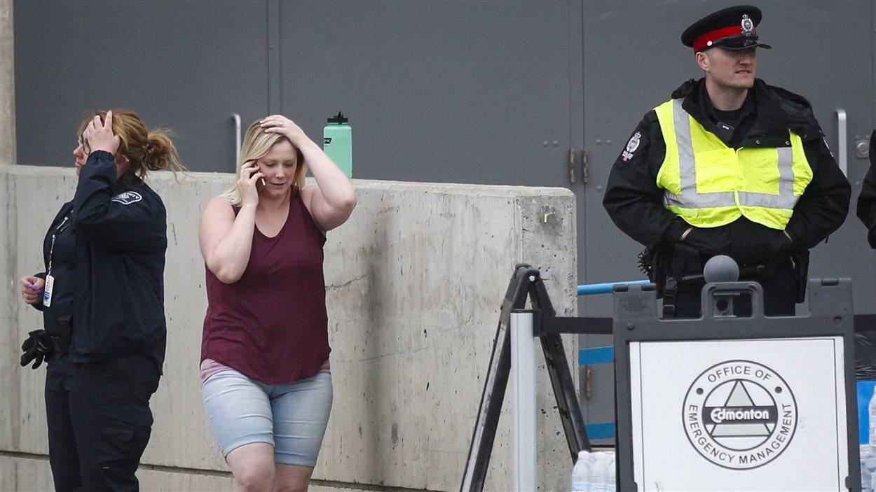 Des évacués de Fort McMurray à Edmonton
