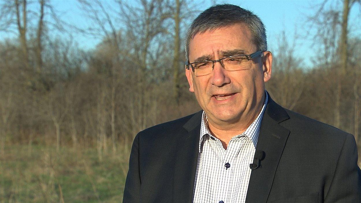 Pierre Caza, directeur de l'aménagement du territoire à l'UPA-Montérégie.