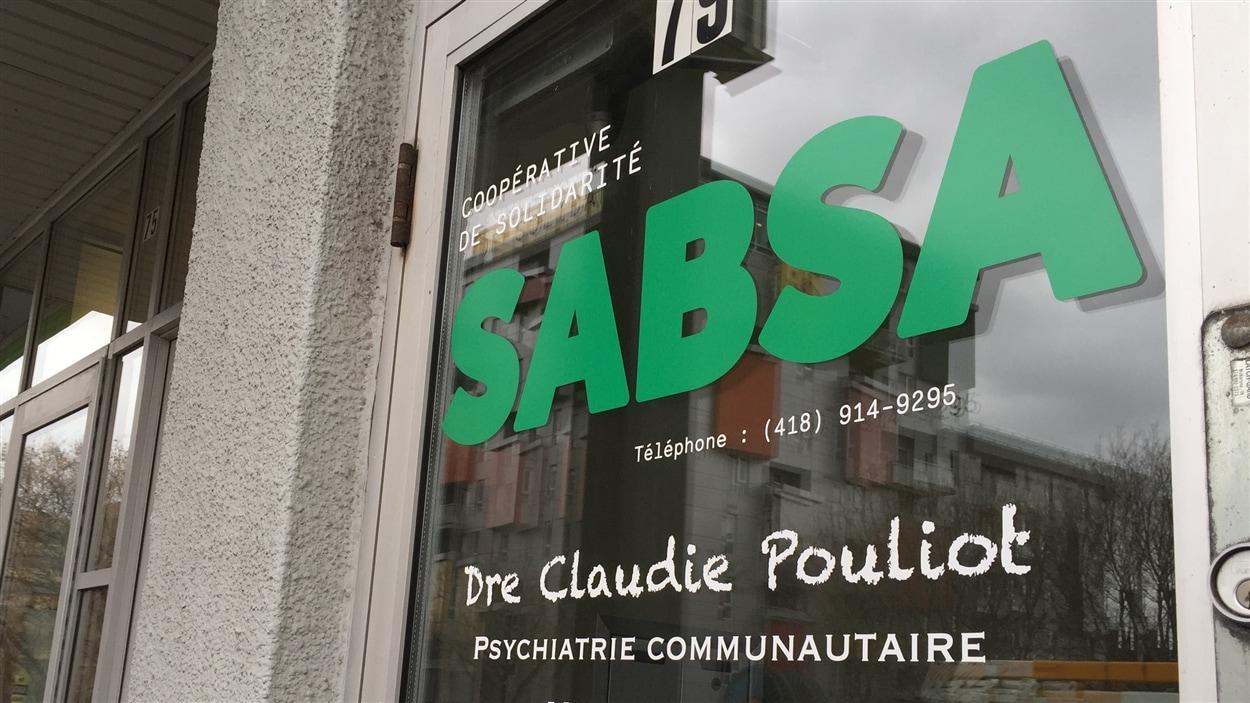La clinique SABSA en basse-ville de Québec.