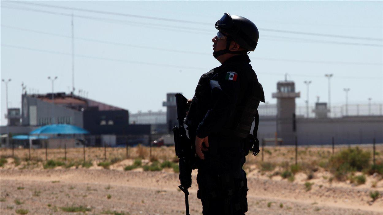 La prison de Ciudad Juárez dans le nord du Mexique.