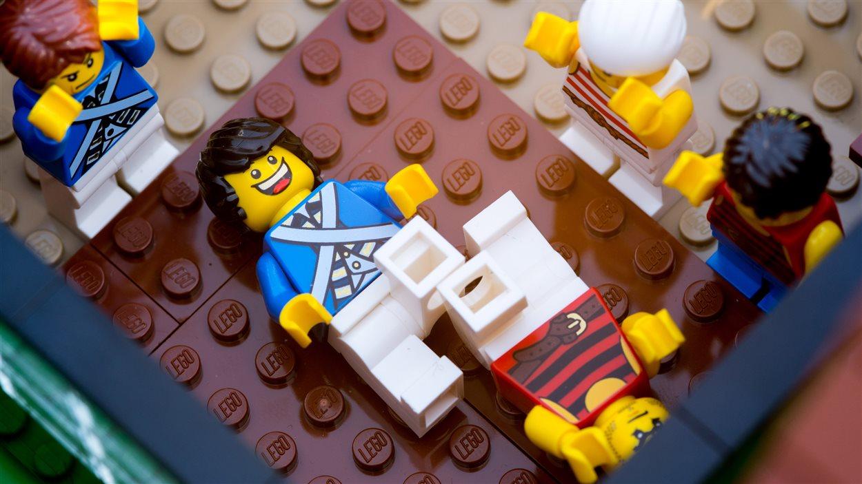 Réplique du Fort Gibraltar en briques Lego